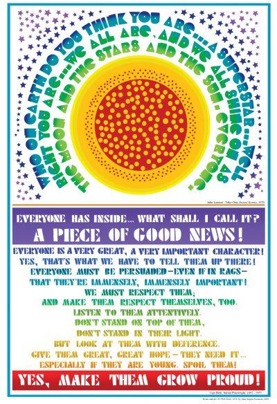 A Piece of Good News poster